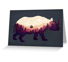 Rhinoscape Greeting Card