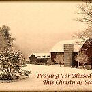 Vintage farm scene by Penny Rinker