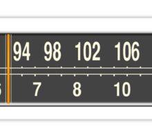 AM/FM Dual-Band Sticker
