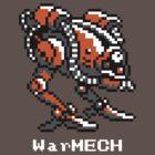WarMECH Final Fantasy 1 NES TeeShirt by kalitarios