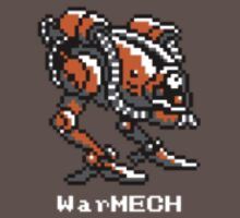 WarMECH Final Fantasy 1 NES TeeShirt - small logo by kalitarios