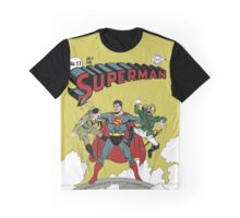 Vintage Superman - Issue 17 Hitler and Hirohito Graphic T-Shirt