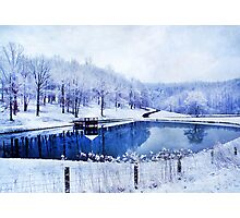 Peaceful Winters Day Photographic Print