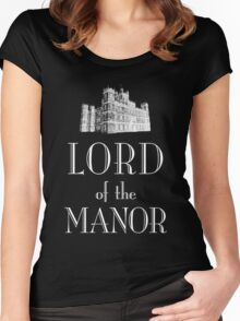Lord of the Manor (white) Women's Fitted Scoop T-Shirt