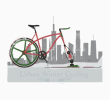 Urban Winter Cycling One Piece - Short Sleeve
