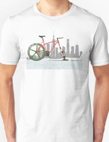 Urban Winter Cycling T-Shirt
