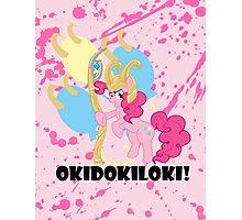 Okidokiloki! Photographic Print