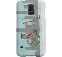 Urban Winter Cycling Samsung Galaxy Case/Skin