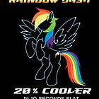 20% cooler Rainbow Dash by BlueFayt