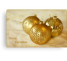 Baubles Canvas Print