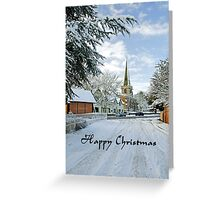 Card - Church Road, Rolleston on Dove  Greeting Card