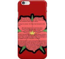 Scarlet Pimpernel - Sir Percy Blakeney's Poem iPhone Case/Skin