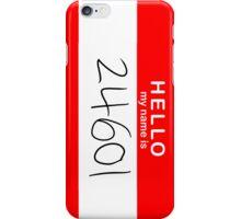 Valjean iPhone Case/Skin