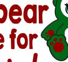 Owlbear Home for Christmas - Gamer Christmas  Sticker