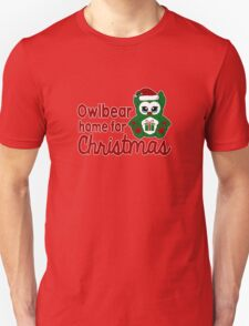 Owlbear Home for Christmas - Gamer Christmas  Unisex T-Shirt