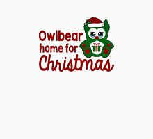 Owlbear Home for Christmas - Gamer Christmas  Men's Baseball ¾ T-Shirt