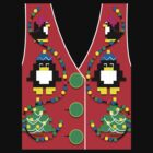 Ugly Christmas Vest by MomfiaTees