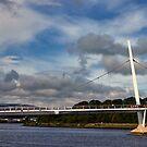 Peace Bridge, Derry by Agnes McGuinness