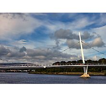 Peace Bridge, Derry Photographic Print