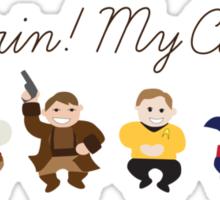 O Captain! My Captains! Sticker
