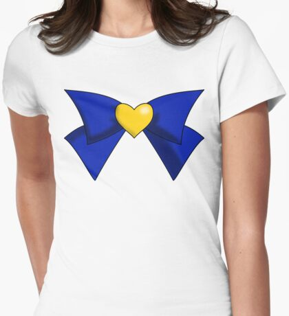 Super Sailor Venus Bow Womens Fitted T-Shirt
