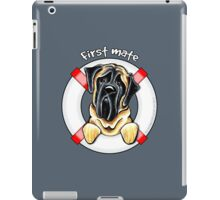 Mastiff :: First Mate iPad Case/Skin