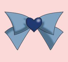 Super Sailor Mercury Bow Kids Clothes