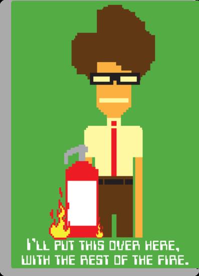 Moss the Fireman by mcgani
