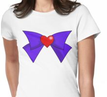 Super Sailor Mars Bow Womens Fitted T-Shirt