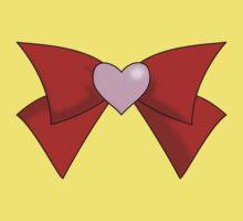Super Sailor Mini Moon Bow (Simple Brooch) Kids Tee