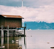 Pier at Lake Tahoe by pmi-photography