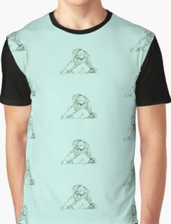 Mint Love Soaked Sox Graphic T-Shirt