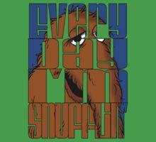 Every Day I'm Snufflin'  One Piece - Short Sleeve