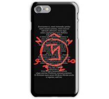 Supernatural Exorcism! And Angel Warding iPhone Case/Skin