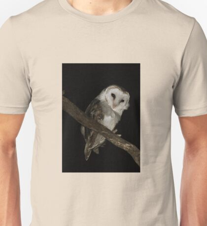 Barn owl beauty Unisex T-Shirt