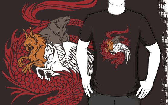 Mythical Creatures Shirt by johiss