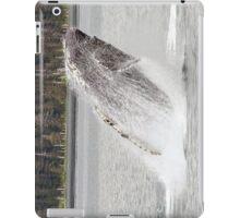 Humpback Whale Breeching iPad Case/Skin
