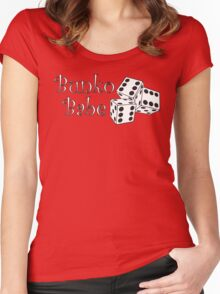 Bunko Babe Women's Fitted Scoop T-Shirt