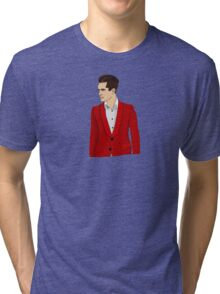 Red Suit Tri-blend T-Shirt
