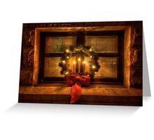 Wreath Warmth Greeting Card