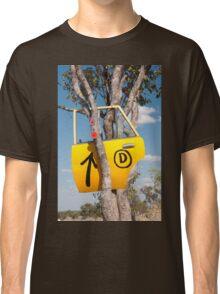 Door in a tree Classic T-Shirt