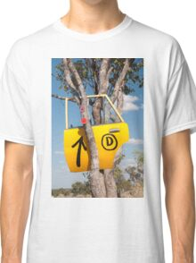 Door in a tree Classic T-Shirt