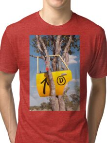 Door in a tree Tri-blend T-Shirt