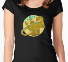 Jurassic Echo Women's Fitted Scoop T-Shirt
