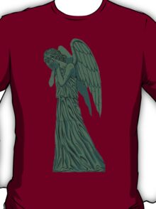 weeping angel, filled in T-Shirt