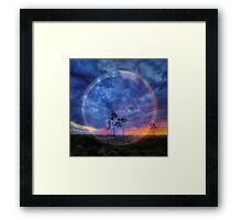 the force within all things Framed Print