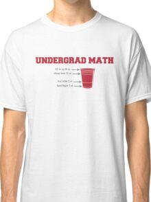 Undergrad Math Classic T-Shirt