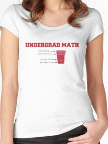 Undergrad Math Women's Fitted Scoop T-Shirt
