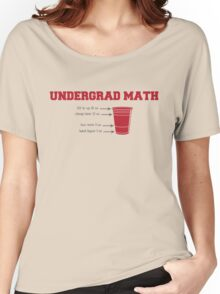 Undergrad Math Women's Relaxed Fit T-Shirt