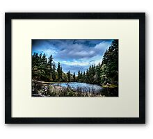 Inland water Framed Print